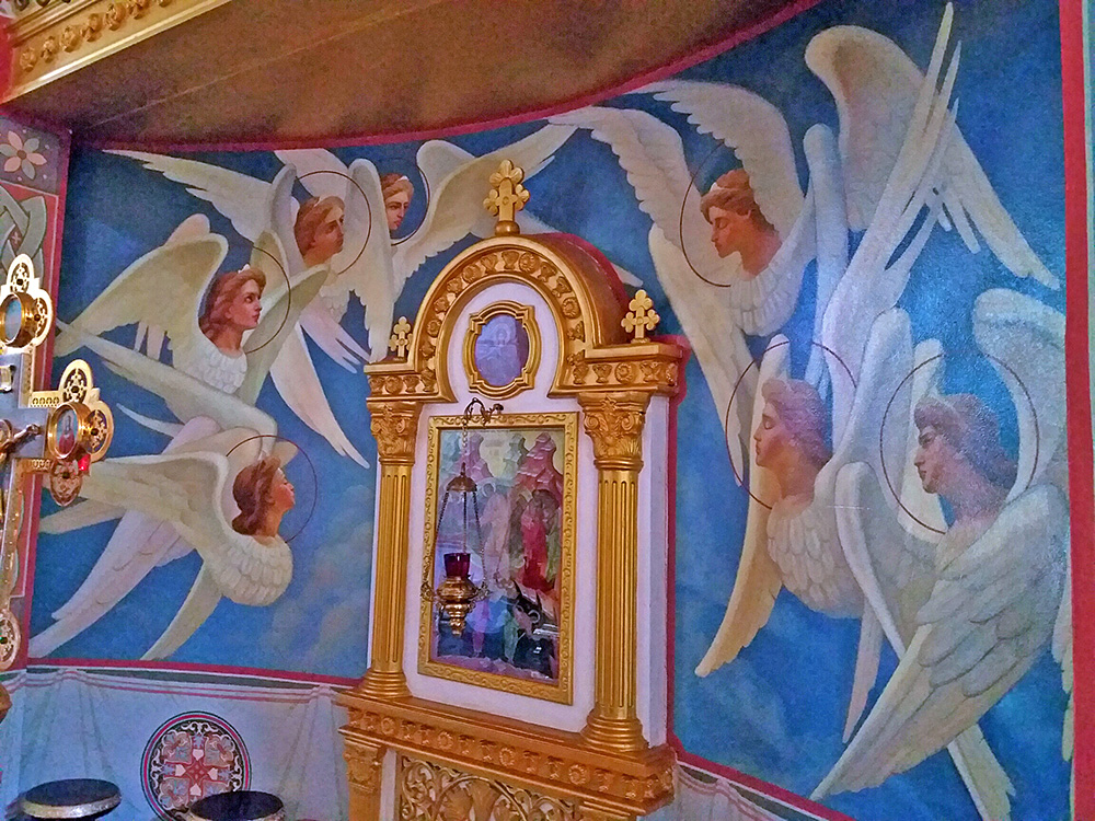 bangkok orthodox church mural painting completed